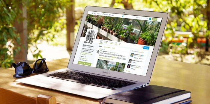 Gravity Digital handle the Social Media Marketing Management for Griffin Glasshouses