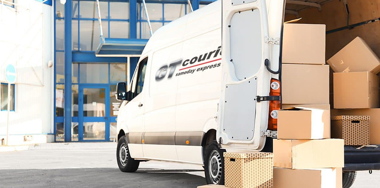 New website keeps courier firm moving