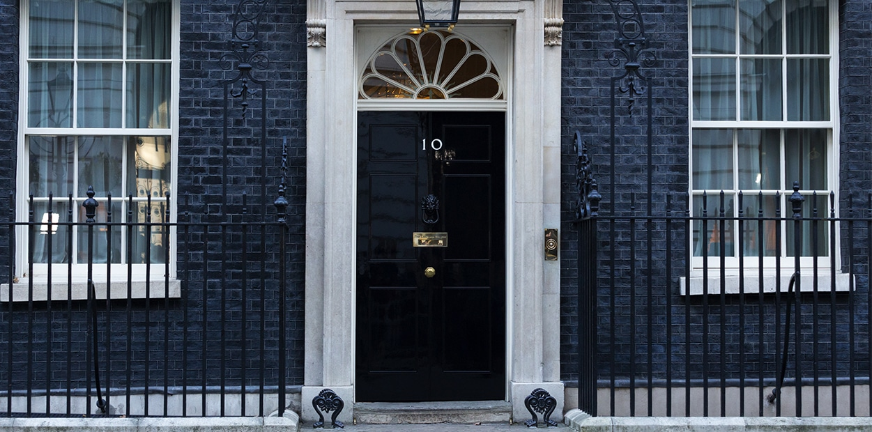 Our visit to 10 Downing Street: Flying the flag for rural businesses